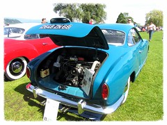 VW Karmann Ghia (v8dub) Tags: auto old classic car vw bug volkswagen automobile beetle automotive voiture cox oldtimer oldcar rare collector ghia käfer coccinelle karmann kever fusca aircooled wagen pkw klassik maggiolino worldcars