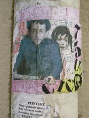 Paris (Zerbi Hancok) Tags: street streetart paris france wall sticker stickers sarkoland