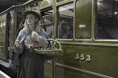 The Flower Girl (Hawkeye2011) Tags: uk london train metro tube railway londonunderground moorgate metropolitanline ch tfl 2014 lul lu150