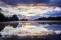 Miroir (photosenvrac) Tags: sunset pose eau reflet paysage loire couleur fleuve levdesoleil poselongue thierryduchamp