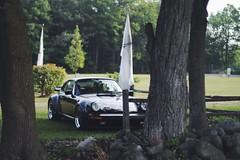 Porsche Platz | 1987 Porsche 930 (311RS) Tags: road lake black nature america flag platz 1987 911 turbo porsche plus elkhart sheboygan ra wi fuchs 930 stance 2014 oem spacers