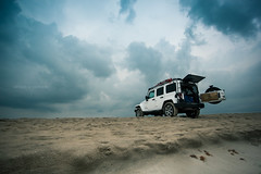 Where the wind blows (EspressoTime) Tags: jeep explore unlimited wrangler whitejeep jeepjk