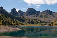 013_Lac d'Allos 08-14 (aups83) Tags: camping panorama mountain lake france alps montagne french nikon rando ciel provence mercantour allos d90 bivouac alpesfrançaises lacdallos