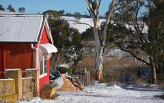 THE RED HOUSE  (EXPLORED) (jgspics) Tags: morning winter snow australia redhouse nsw edith oberon