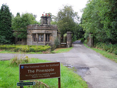 Start as you mean to go on (beqi) Tags: panorama history architecture stonework pineapple photoshoppery 2014 dunmorepark
