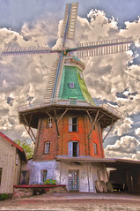 Windmuehle (hjoschmidt) Tags: molino bauwerk windmuehle