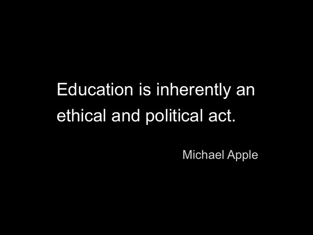 Michael Apple quote