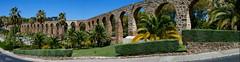 Panorama: Plasencia's Aqueduct (rgrant_97) Tags: españa spain aqueduct extremadura plasencia