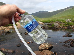First filled by Sainsburys, then many times (through a filter) from Scottish mountain rivers
