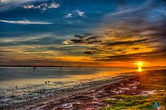Fire & Ice (dbubis) Tags: ocean sunset beach skyline landscape florida dunedin fl causeway bubis dbphoto