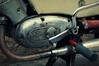 Old Simson motorcycle