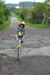 Momoko and a vintage bike (pe.kalina) Tags: bike vintage doll barbie momoko