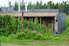 Old Abandoned Building in Upsala (Vegan Butterfly) Tags: wood old ontario building rot abandoned home broken rotting bar restaurant decay damaged destroyed upsala decaying