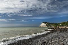 St Margaret's Bay Shoreline (BAN - photography) Tags: sea beach clouds pebbles shore whitecliffs stmargaretsbay erosionbarriers seaenglishchannel