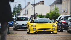 XJ220S (Maxime Jouet / El-Astic) Tags: detail london classic car rain race photo nikon shot martin fast ferrari mans le british motor jaguar nikkor expensive limited rare maxime jouet aston supercars d800 elastic f12 xkr lagonda db7 purble d90 xj220s