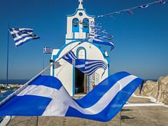 Blauw - Wit (dejongbram) Tags: santorini kerk griekenland