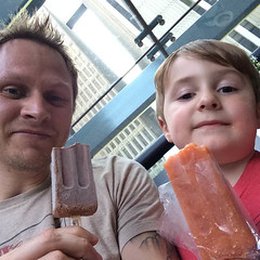 Bryce and I Got Some King of Pops (michaelbwelch) Tags: food bryce kingofpops