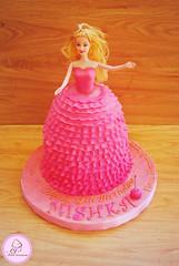 Mishka's Barbie Cake (aj.foodcreations) Tags: cake barbie
