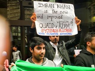 MFI at PTI's Azadi Dharna, Sydney 8