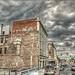Google Street View - Pan-American Trek - Storms brewing over downtown Cheyenne