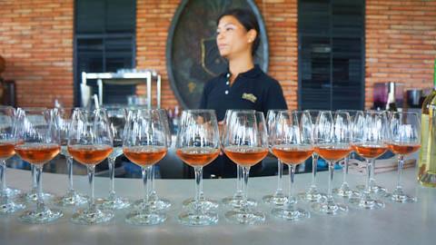 Hua Hin Hills Wine Tasting 5