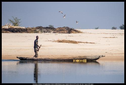 Zambian fisherman