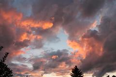 Dramatic September Sunset (bigbrowneyez) Tags: sunset sky ontario canada nature beautiful clouds happy amazing fantastic nuvole dof gorgeous ottawa dramatic virgin cielo stunning fabulous sole breathtaking delightful joyous layering bello bellissimo myfrontyard flickrdrama loveclouds dramaticseptembersunset