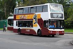 599 (Callum Colville's Lothian Buses) Tags: bus buses edinburgh short dennis trident madder lothianbuses wheelbase edinburghbus dennins madderandwhite madderwhite sn51ayo busesedinburgh