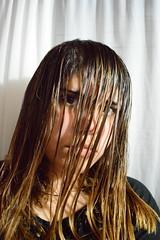 Crazy- Pelocorto. (Kchito.) Tags: love girl hair flickr sad grunge bad pale short blonde effect mala nikond3200 tumblr