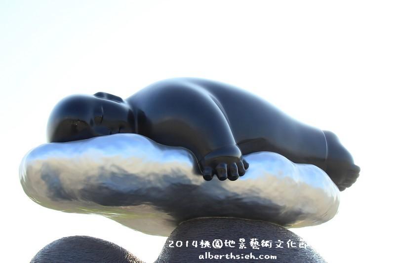 【月兔】桃園大園.2014桃園地景藝術節(張洹的六道輪迴超震撼)