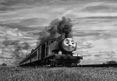 Thomas (Forsaken Fotos) Tags: railroad train thomas strasburgrailroad percy stras thomasthetrain percyatstrasburgrailroad
