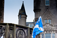 granite city (pamelaadam) Tags: autumn building digital scotland citadel yes faith political fotolog september aberdeen spirituality independance kirk 2014 thebiggestgroup