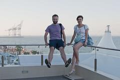 Fooling around in Odessa (Vladimir Yaitskiy) Tags: friends sea beach water nemo odessa ukraine tourist tourists fooling lanzheron ланжерон kyco