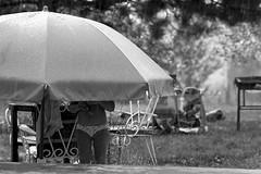 Rain (Misko78) Tags: blackandwhite bw rain kids 35mm bath exposure play nikkor agfa nikonf2 25asa plustek agfapan25 nikkor50mm14ai 7500i bw0006