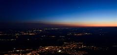 Venus 1 (Xevi V) Tags: view panorama capvespre catalonia catalunya montserrat sunset night nit isiplou venus baixllobregat airelliure cel sky landscape nightfall