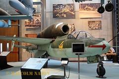 HEINKEL HE162A-2 120076 LUFTWAFFE (shanairpic) Tags: military museum preserved deutschestechnikmuseum berlin heinklehe162