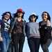 Deborah, Monica, Natalia e Summer em Saint-Nazaire
