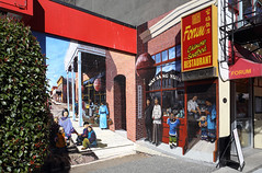 Confused ? (AnyMotion) Tags: muralart mural painting wandmalerei architecture architektur 2016 anymotion travel reisen chinatown victoria britishcolumbia canada kanada 6d canoneos6d
