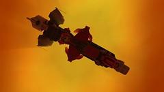 Azazel - by Mark Sandlin (Sastrei87) Tags: azazel 3vil homeworld lego brickspace blender ldraw space spaceship
