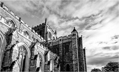 Ripon Cathedral . (wayman2011) Tags: fujifilmx70 lightroom wayman2011 bwlandscapes mono cathedrals religeousbuildings historicbuildings pennines northyorkshire yorkshire ripon uk