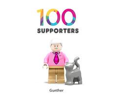 100 - gunther (Central perk lego ideas) Tags: 100 achieved reach gunther legoworld legostagram legomoc legoideas lego afol friends supporters
