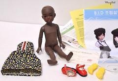 Iplehouse BID Erzulie for sale (MerryDoll Art) Tags: iplehouse bjd doll bid tiny yosd ebonyskin erzulie merrydoll elementalguardians