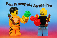 PPAP: Apple Pen needs Apple Inc. (Ink) (Lesgo LEGO Foto!) Tags: lego minifig minifigs minifigure minifigures collectible collectable legophotography omg toy toys legography fun love cute coolminifig collectibleminifigures collectableminifigure ppap penpineappleapplepen applepen pineapplepen djpikotaro stevejobs steve jobs apple appleinc pineapple pen kosakadaimou