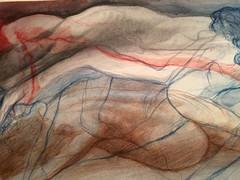 Figure drawing (Dorian Vallejo) Tags: art fine drawing figure mixed media drawings oil painting dorian vallejo