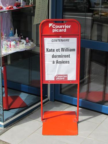 Albert: Courrier picard headline (Somme)