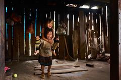 Having Fun (Wolfics) Tags: vietnam north sapa lao cai people green rice terraces field fields cow village life black hmong trek x100t fujifilm