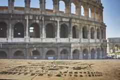 Colosseo graffiti (Quartonet) Tags: sonya700 24mm colosseo graffiti roma rome