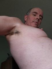 Mesa Guy UA 11 7 2016 (Monte Mendoza) Tags: armpits underarms pits axila malechest shirtless noshirt sincamisa nipple