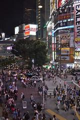 Scramble crossing at Shibuya (Tokyo - ) (Doncardona) Tags: scramble shibuya crossing  tokyo tokio  japan japon nippon nihon  asia asiatrip worldtraveler jpworldtraveler travel trip adventure journey nikon nikon3100 3100