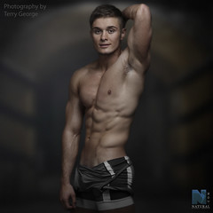 Chris Cullen NFM (TerryGeorge.) Tags: natural fitness models abs six pack workout toned athletic muscle male model underwear shirtless hunk ripped